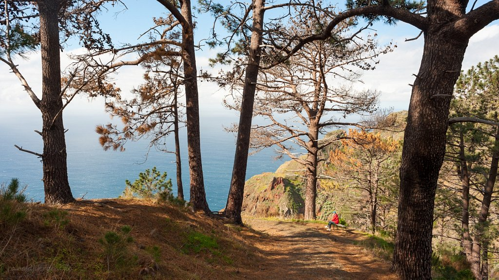 """Wandern von """"Prazeres"""" Steilküste hinunter nach """"Paul do Mar"""", Madeira"""