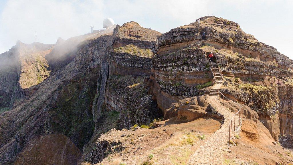 Pico do Areiro, Madeira